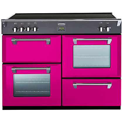 Image for Stoves  Richmond 1100Ei Electric Induction Range Cooker - 110cm - Floral Burst from StoreName