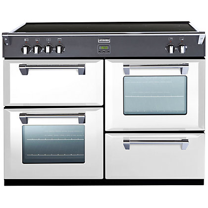 Image for Stoves 444441860 Icy Brook 1100Ei Induction Range Cooker - White from StoreName