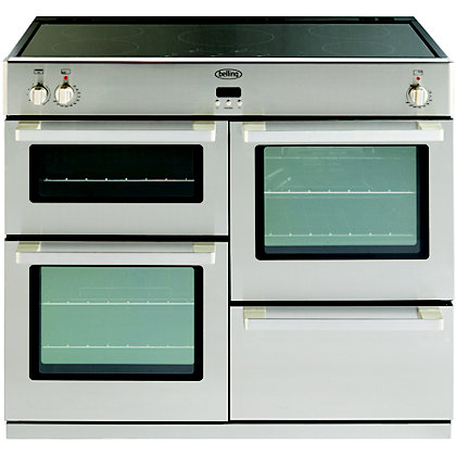 Image for Belling 444443030 Professional Induction Range Cooker 100cm - Stainless Steel from StoreName