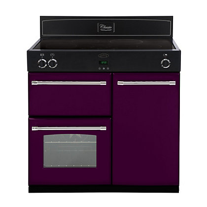 Image for Belling 444441899 Wild Berry Induction Range Cooker - 90cm - Purple from StoreName
