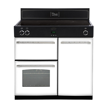 Image for Belling 444441901 Icy Brook Induction Range Cooker - 90cm - White from StoreName