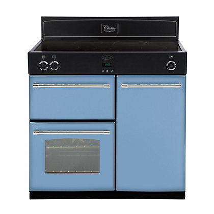 Image for Belling 444441902 Days Break Induction Range Cooker 90cm - Light Blue from StoreName