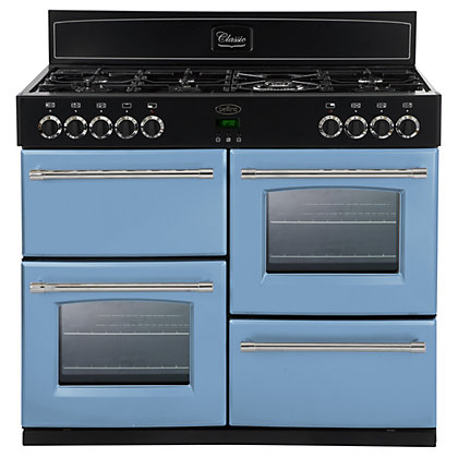 Image for Belling 444441448 Days Break Gas Range Cooker - 110cm - Light Blue from StoreName