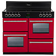 Belling 444441374 Hot Jalapeno Ceramic Range Cooker 100cm - Red