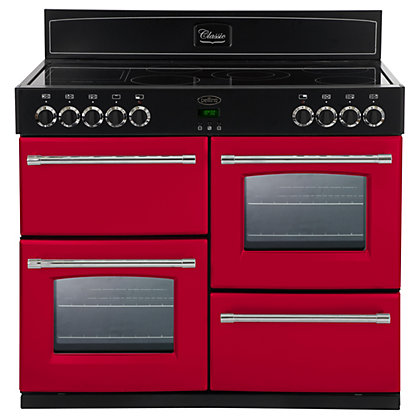 Image for Belling 444441374 Hot Jalapeno Ceramic Range Cooker 100cm - Red from StoreName