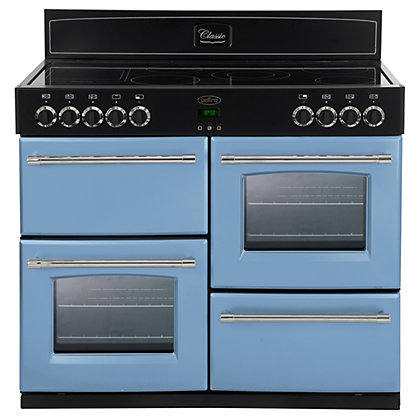 Image for Belling 444441376 Days Break Ceramic Range Cooker - 100cm - Light Blue from StoreName