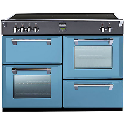 Image for Stoves 444441849 Days Break Induction Range Cooker - 100cm - Light Blue from StoreName