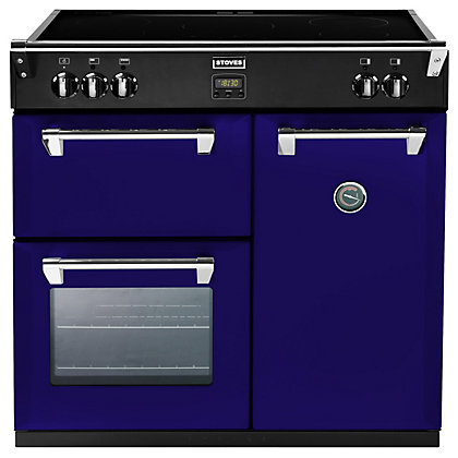 Image for Stoves 444441839 Midnight Gaze Induction Range Cooker - 90cm- Dark Blue from StoreName