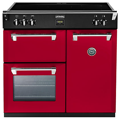 Image for Stoves 444441835 Hot Jalapeno Induction Range Cooker - 90cm - Red from StoreName