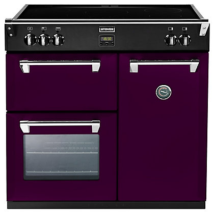 Image for Stoves 444441834 Wild Berry Induction Range Cooker - 90cm - Purple from StoreName