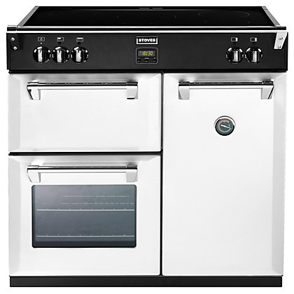 Image for Stoves 444441836 Icy Brook Induction Range Cooker - 90cm - White from StoreName