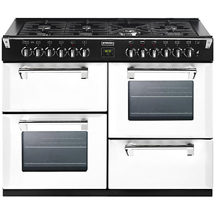 Image for Stoves Richmond 1100DFT Dual Fuel Range Cooker - 110cm - Icy Brook from StoreName