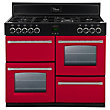 Belling 444441410 Hot Jalapeno Dual Fuel Range Cooker - 100cm - Red