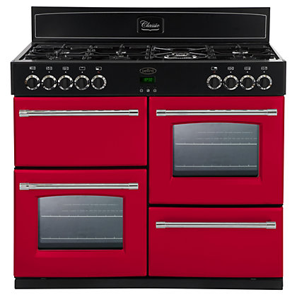 Image for Belling 444441410 Hot Jalapeno Dual Fuel Range Cooker - 100cm - Red from StoreName