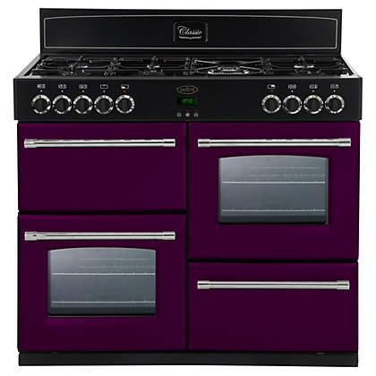 Image for Belling 444441409 Wild Berry Dual Fuel Range Cooker - 100cm - Purple from StoreName