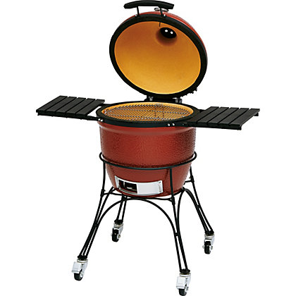 Image for Kamado Classic Joe Charcoal BBQ - Red - Home Delivery from StoreName