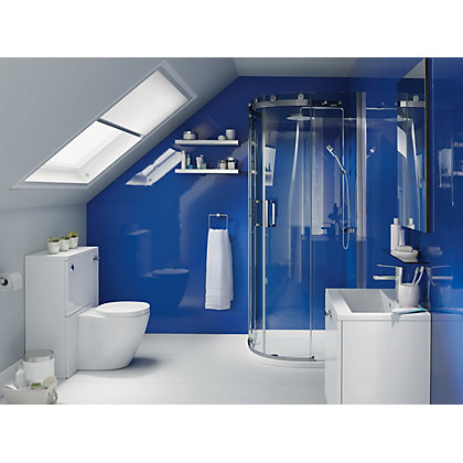 Image for Stormwall Acrylic Splashback Sapphire from StoreName