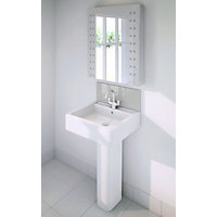 Stormwall Silver Glass Upstand - 600 x 200 x 6mm