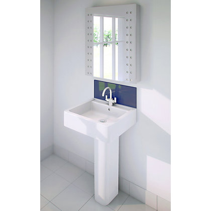 Image for Stormwall Sapphire Glass Upstand - 600 x 200 x 6mm from StoreName