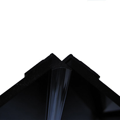 Image for Stormwall Acrylic Internal Corner Black from StoreName