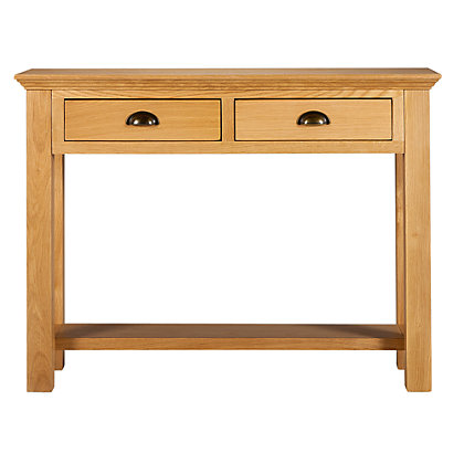 Westminster Oak Console Table