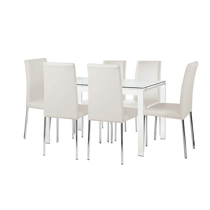 Furniture Dining Tables Chairs Dining Sets Houston Glass Dining