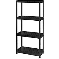 Plastic Shelf - 4 Tier