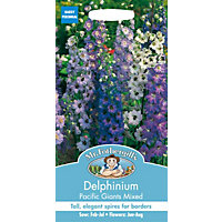 Delphinium Pacific Giants Mixed (Delphinium X Cultorum) Seeds