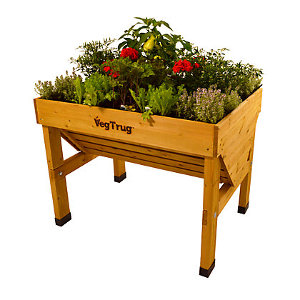 Image for Small VegTrug - Natural FSC® Certified Wood from StoreName