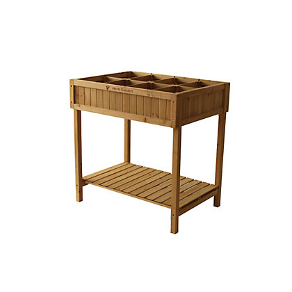 Image for Wooden Herb Planter from StoreName