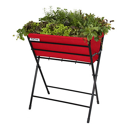 Image for VegTrug  - Poppy Black and Red Felt from StoreName