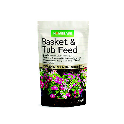 Image for Homebase Basket and Tub Plant Food - 1kg from StoreName