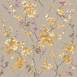 Pastel Florals Yellow Blossom Wallpaper