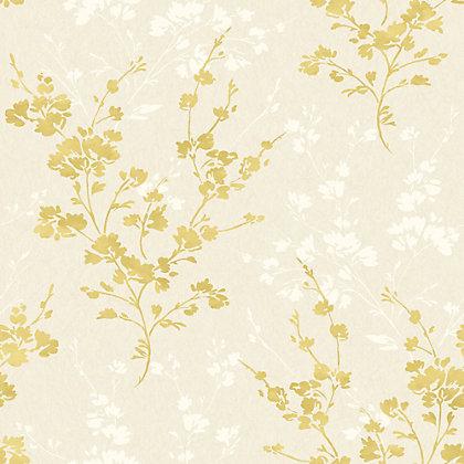 Image for Velvet Pear Flowers Wallpaper from StoreName