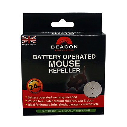 Image for Rentokil Battery Operated Mouse Repeller from StoreName