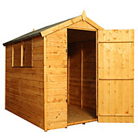 Mercia Shiplap Apex Wooden Shed - 7x5ft