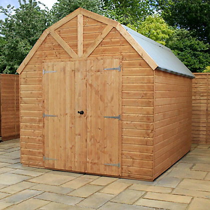 Image for Mercia Premium Shiplap Wooden Barn - 8x10ft from StoreName