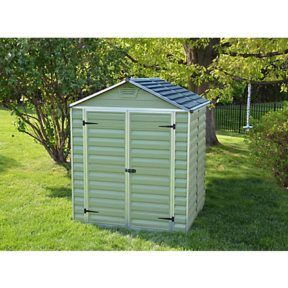 Image for Mercia Green Plastic Shed - 5x6ft from StoreName