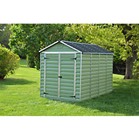 Mercia Green Plastic Shed - 10x6ft