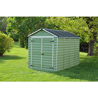 Image for Mercia Green Plastic Shed - 10x6ft from StoreName