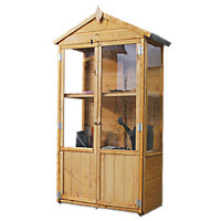 Mercia Wooden Mini Greenhouse Store