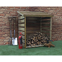 Mercia Single Log Store