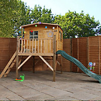Mercia Cottage Tower Playhouse & Slide