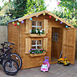 Mercia Double Storey Playhouse - 7ft x 5ft