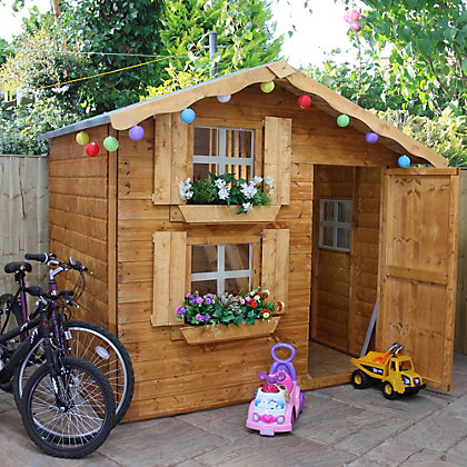 Image for Mercia Double Storey Playhouse - 7ft x 5ft from StoreName