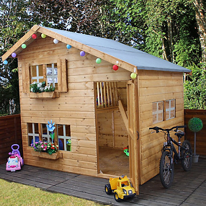 Image for Mercia Double Storey Playhouse - 8ft x 6ft from StoreName