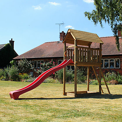 Image for Mercia Woodland Trust Polecat Tower Climbing Frame from StoreName