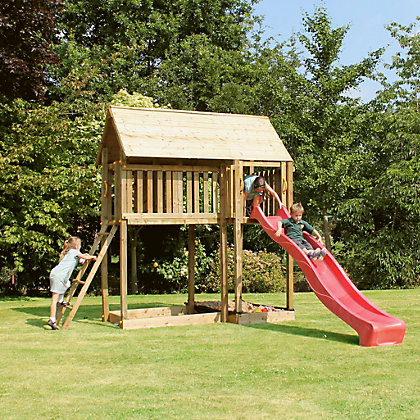 Image for Mercia Woodland Trust Fox Tower Climbing Frame from StoreName