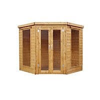 Mercia Wooden Corner Summer House - 7ft x 7ft