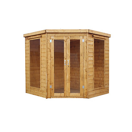 Image for Mercia Wooden Corner Summer House - 7ft x 7ft from StoreName